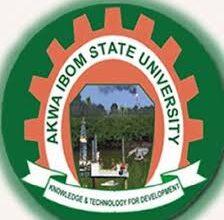 The logo of Akwa Ibom State University