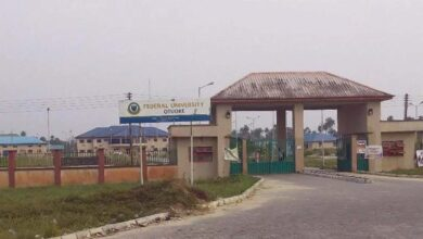 A picture of Federal University Otuoke