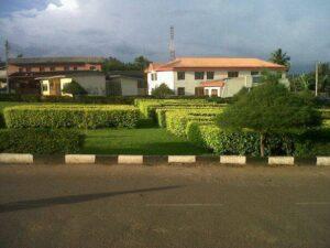 The interior of Olabisi Onabanjo University