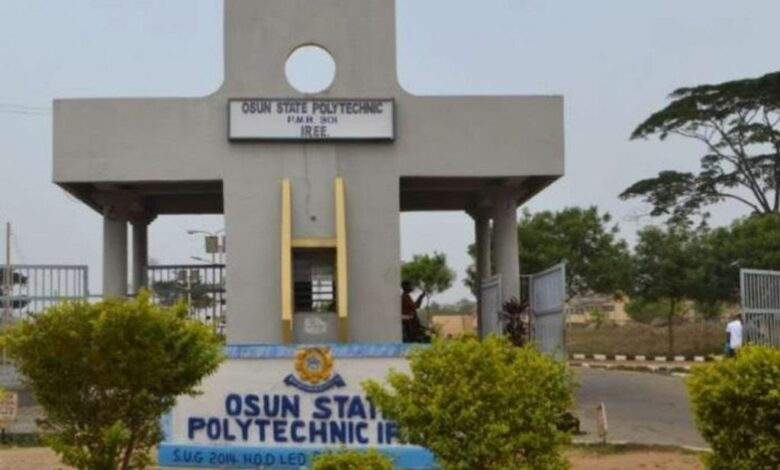 A picture of Osun State Polytechnic Iree
