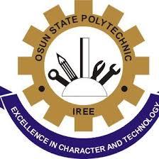 Logo of Osun State Polytechnic Iree