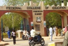 A picture of the Federal College of Education, Kano