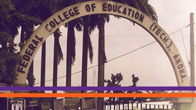 A picture of the Federal College of Education (Technical) Akoka