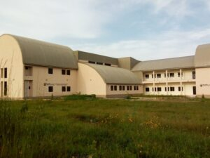 A building in Plateau State Polytechnic