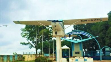 A photo of the Nigerian College of Aviation Technology