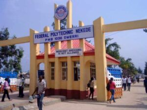 A picture of the Federal Polytechnic Nekede