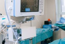 Medical Equipment on an Operation Room